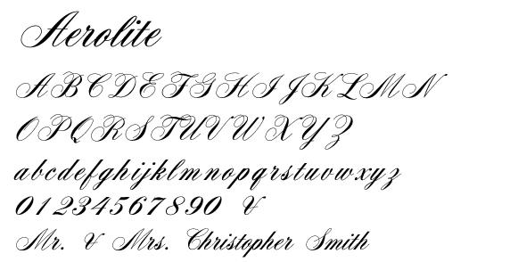 Aerolite Font